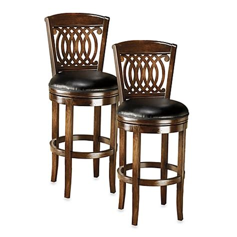 Bar Stools Bed Bath And Beyond by Hillsdale Vienna Swivel Counter Stool And Swivel Bar Stool