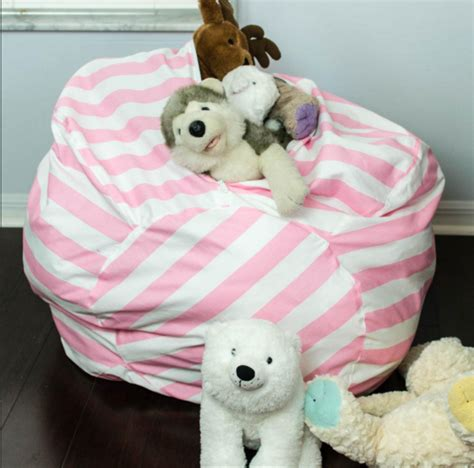 stuffed animal bean bag storage pattern free sewing pattern bean bag chair with storage