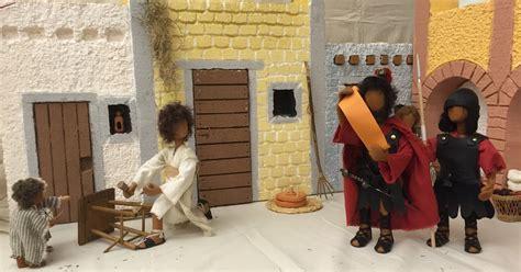 egli figuren weihnachtsgeschichte biblische erz 228 hlfiguren nach doris egli ausstellung zur