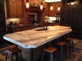 Kitchen Island Counters concrete countertops custom concrete countertops hard
