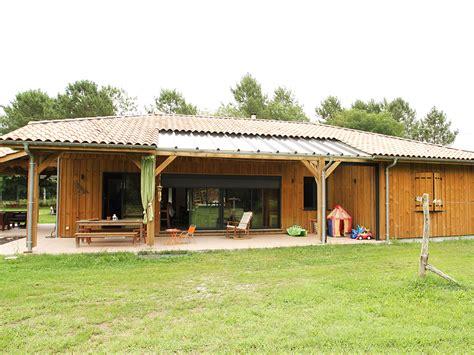 Maison En Bois by Accueil Dubourg Construction Maisons En Bois Landes 40