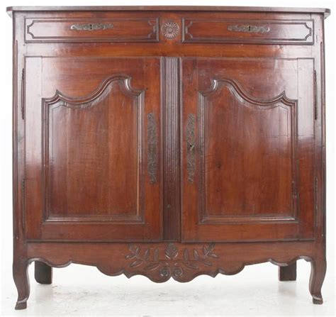 19th Century Country Cherry Buffet Early 19th Century Cherry Buffet For Sale