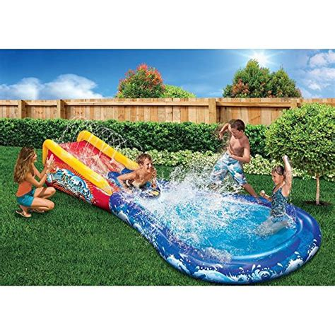 backyard blow up pools little tikes rocky mountain river race bouncer shopswell
