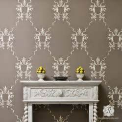 Bedroom Furniture Makeover Ideas - traditional wall stencils classic italian stencils royal design studio stencils