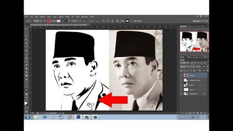 tutorial smudge painting photoshop cs6 bahasa indonesia tutorial photoshop cara mudah membuat line art poto youtube