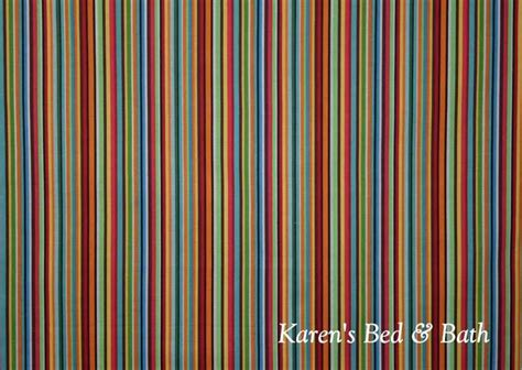 orange and blue striped curtains blue green red orange brown white curtain valance 15 99
