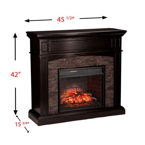 Bolton Fireplaces by Wildon Home 174 Bolton Corner Infrared Media Electric