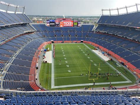 section viii athletics sports authority field section 523 rateyourseats com