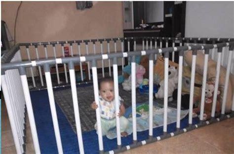 Pagar Pengaman Bayi Dari Pipa cara unik membuat playpen sendiri di rumah rumah dan