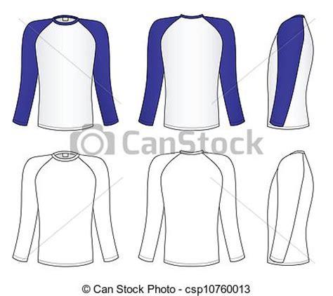 Kaos Graphic 25 vector clip of raglan sleeve t shirt outline black