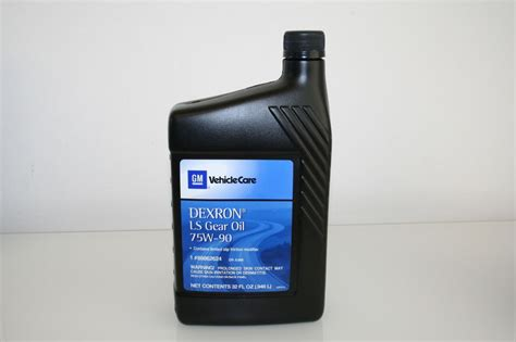 oil ls for sale 88862624 oil dexron ls gear 75w 90 32 oz