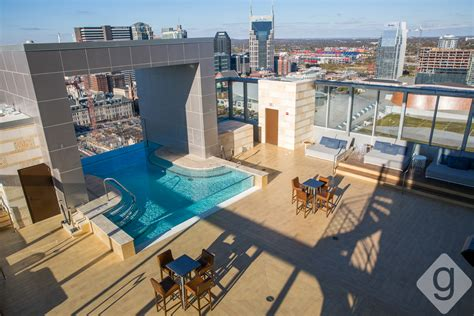 Nashville Top Bars by A Look Inside L27 Rooftop Bar Lounge Nashville Guru