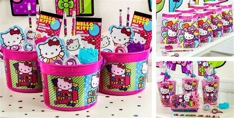 Hello Kitty Party Favors   Stickers, Pencils, Bubbles, Toys & More   Party City Canada