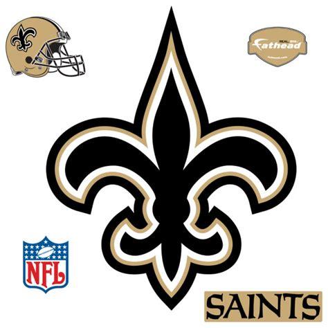 New Orleans Saints L new orleans saints logo fathead nfl wall graphic