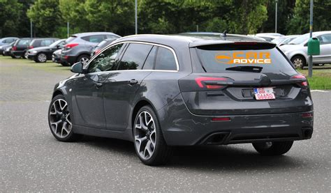 opel insignia wagon opel insignia opc wagon spied photos 1 of 6
