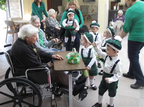 lakewood daycare sends st patrick s cheer to seniors