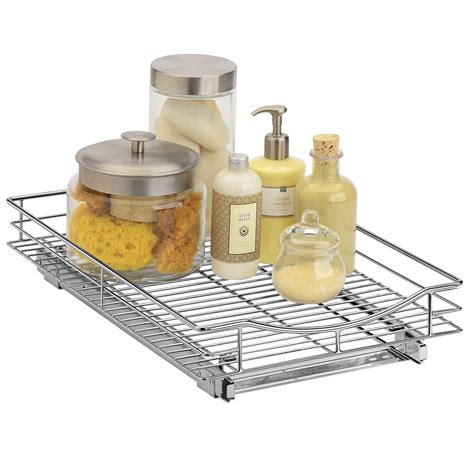 under pull out shelf lynk roll out organizer pull out under