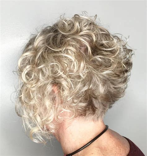 curly bob for over 50 90 classy and simple short hairstyles for women over 50