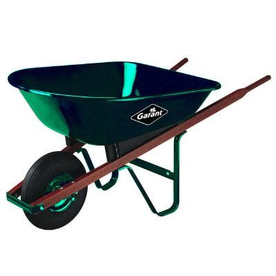 garant 5 cu ft steel wheelbarrow home depot canada