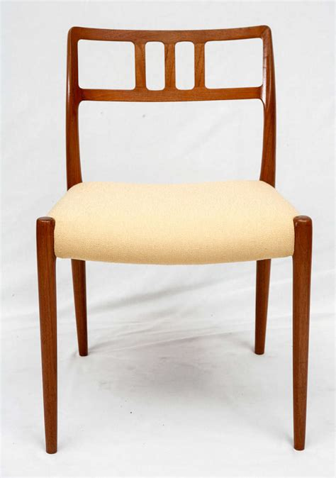 Moller Dining Chairs Set Of 4 Niels Moller Dining Chairs For Sale At 1stdibs