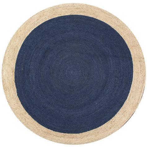 Nuloom Eleonora Blue 8 Ft X 8 Ft Round Area Rug Tajt09b 8 Foot Rugs
