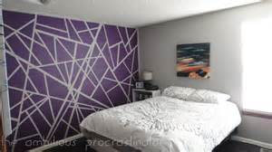 painter s tape wall design diamond vogel