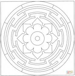 celtic mandala black and white celtic mandala coloring page free printable coloring pages