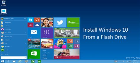install windows 10 from usb drive install windows 10 preview from a flash drive bjorn3d com
