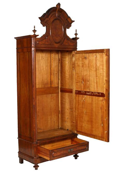 ebay armadi antico armadio guardaroba anta specchio umbertino noce 800