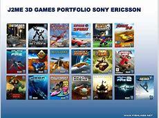 PPT - J2ME 3D GAMES PORTFOLIO SONY ERICSSON PowerPoint ... J2me Games
