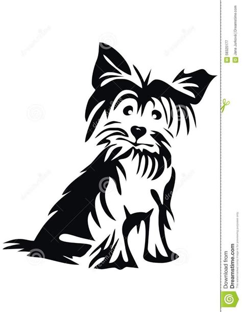 yorkie svg 75 best yorkie silhouette images on yorkie terriers and
