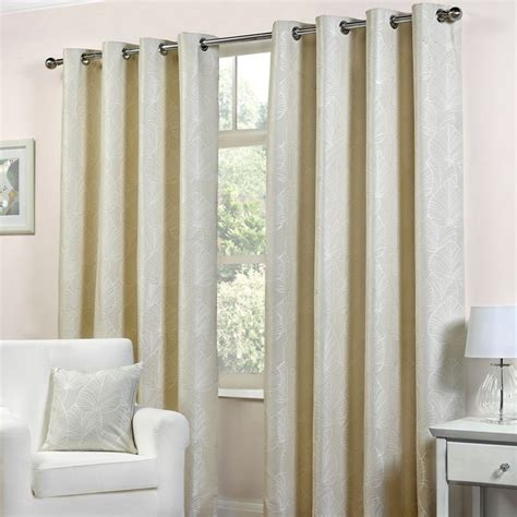 natural curtains 90 x 90 fusion palma curtains 90 quot width x 90 quot drop natural