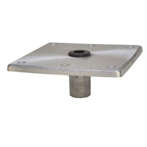 springfield boat pedestal base springfield marine 3 4 in pin aluminum boat seat pedestal