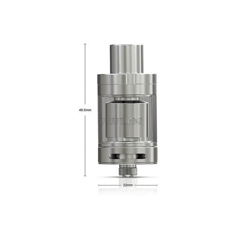 authentic eleaf oppo rta 2ml 22mm silver rebuildable tank atomizer