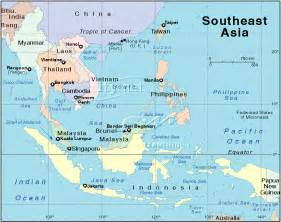 Map Se Asia by Satellite Views And Political Maps Of South East Asia