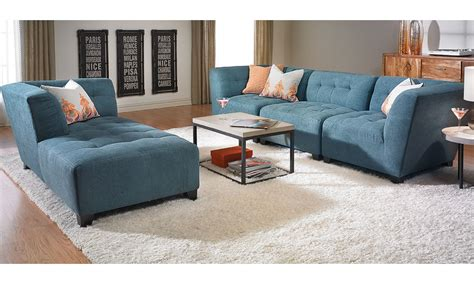 Bel Furniture Warehouse by Bel Air Modular Sofa With Chaise Haynes Furniture Virginia S Furniture Store