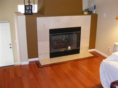 laminate flooring fireplace inlay trim and painting