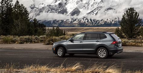 volkswagen tiguan review  bigger