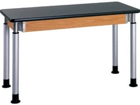 Lab Tables by Diversified Adjustable Lab Table With Chemguard Top 60x24 Quot Lab Tables