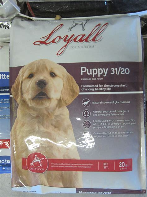 loyall puppy food loyall puppy formula 31 20 food j b feed hay