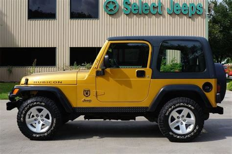 Gold Jeep Wrangler Rubicon Combination In Inca Gold Only Available In