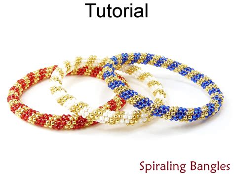 peyote beading tutorial beading tutorial bangle bracelet even count tubular