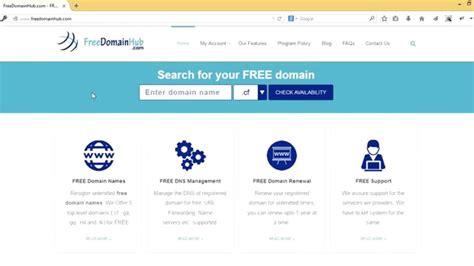 domain  registration tutorial freedomainhubcom