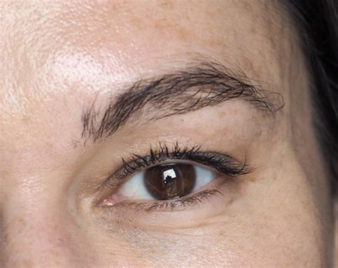 tattoo brow maybelline review maybelline tattoo brow easy peel off tint review