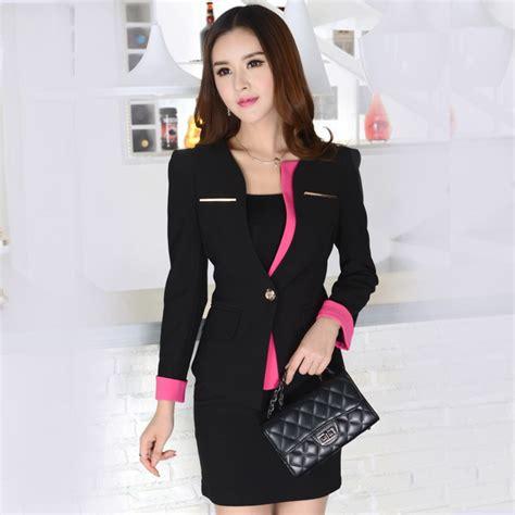 Jas Blazer Jas Hitam Modern Style baju atasan blazer blezer jas wanita formal utk kerja