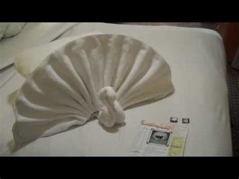 Origami Towel Folding - towel origami twisted terrycloth and sculptures for