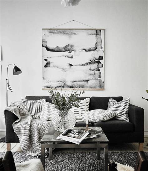 black couch living room the 25 best black couch decor ideas on pinterest black