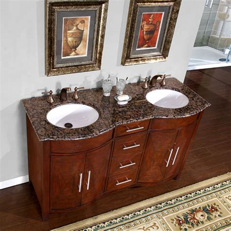 silkroad exclusive 58 inch hyp 0221 bb uwc double sink