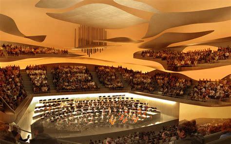 Korea Style Interior Design by Philharmonie De Paris Prepares To Open Amid Controversy