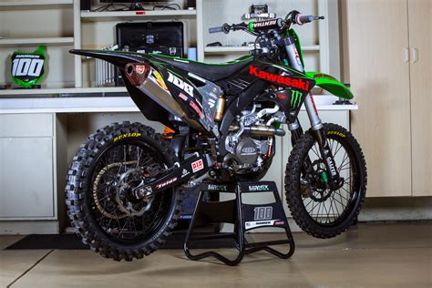 factory motocross josh hansen s motosport outlet monster energy kawasaki
